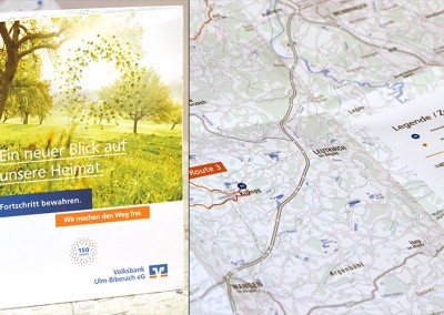 Steinpapier-Landkarten