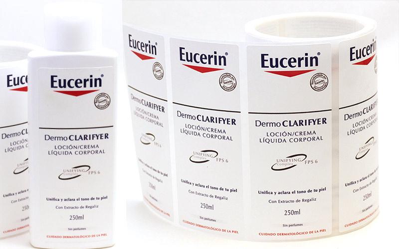 Steinpapier Label